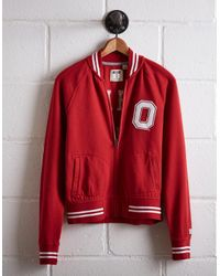 Tailgate Red Women's Ohio State Bomber Jacket