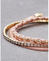 American Eagle - Pink Blush Arm Party Bracelets - Lyst