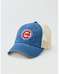 dcf67326600 Lyst - American Eagle American Needle Chicago Cubs Hat in Blue for Men