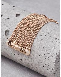American Eagle - Metallic Gold Metal Chain Duster Earrings - Lyst