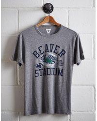 Tailgate Gray Men's Penn State Beaver Stadium T-shirt for men