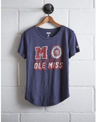 Tailgate Blue Women's Ole Miss Rebels T-shirt
