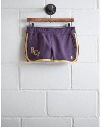 Tailgate Purple Women's Ecu Track Short