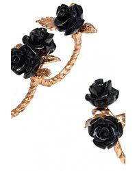 Bernard Delettrez | Black Double Finger Bronze Ring | Lyst
