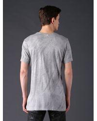 DIESEL | Gray 't-diego-ia' T-shirt for Men | Lyst