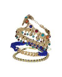 TOPSHOP - Multicolor Festival Bracelet Pack - Lyst