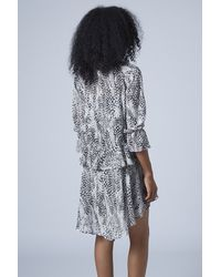 TOPSHOP - Metallic Limited Edition Lurex Maxi Dress - Lyst