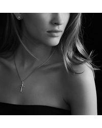 David Yurman - Metallic Earrings With Pearl And 18k Gold - Lyst