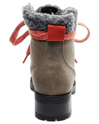 Madden Girl | Natural Bunt Cold Weather Hiker Booties | Lyst