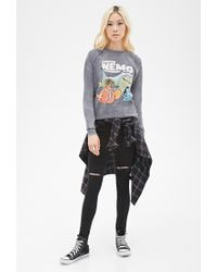Forever 21 | Gray Finding Nemo Sweatshirt | Lyst