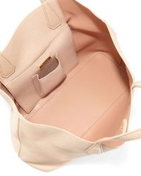 Tory Burch - Pink Perry Leather Tote Bag - Lyst