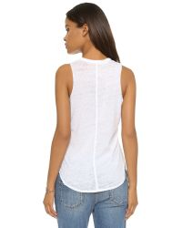 Chaser | White Pocket Muscle Tee | Lyst