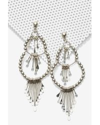 Nasty Gal | Metallic Paola Chandelier Earrings | Lyst