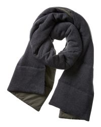Banana Republic | Green Quilted Primaloft Scarf for Men | Lyst