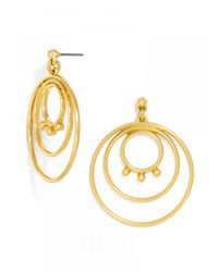 BaubleBar - Metallic Orbit Drops - Lyst