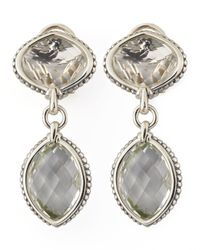 Lagos - Metallic Venus Drop Earrings - Lyst