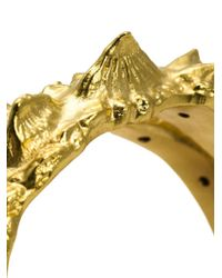 Henson | Metallic Spine Cuff Bracelet | Lyst