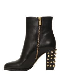 MICHAEL Michael Kors | Black Regina Tall Zip Boots | Lyst