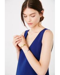Urban Outfitters - Metallic Easy Bangle Bracelet Set - Lyst