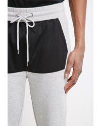 Forever 21   Gray Mesh-paneled Sweatpants for Men   Lyst