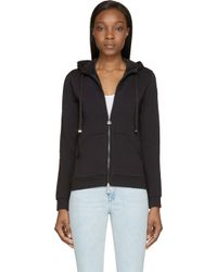 Moncler - Black Classic Track Hoodie - Lyst