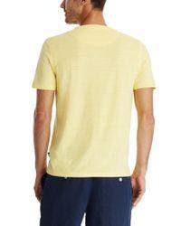 BOSS Yellow 'eraldo ' | Pima Cotton V-neck T-shirt for men