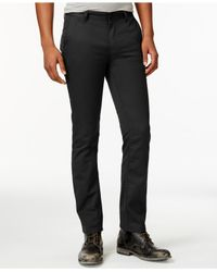 KR3W | Black Slim Straight-leg Chino Pants for Men | Lyst
