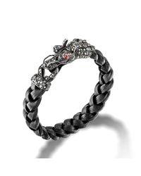 John Hardy | Metallic Dragon Head Bracelet for Men | Lyst