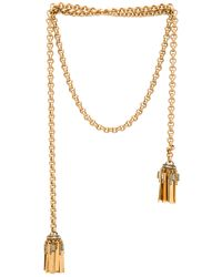 Elizabeth Cole | Metallic Necklace | Lyst