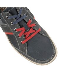 Lotus - Blue Brixham Lace Up Casual Trainers for Men - Lyst