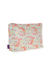 Liberty - Blue Large Tatum Print Tana Lawn Wash Bag - Lyst
