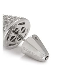 Eddie Borgo | Metallic Crystal Pavé Cone Earrings | Lyst
