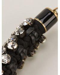 Isabel Marant   Black Embellished Necklace   Lyst