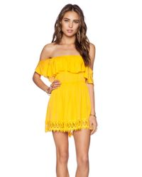 Lovers + Friends | Yellow Dream Vacay Dress | Lyst