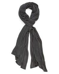 Echo - Gray Solid Wrap - Lyst