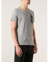 Paul & Joe - Gray Rabbits Print Tshirt for Men - Lyst