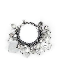 Venessa Arizaga | Metallic 'ready To Party' Bracelet | Lyst