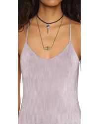 Free People | Purple She Moves Maxi Dress | Lyst