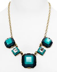 Marc By Marc Jacobs - Blue Stacked Glass Necklace 20 - Lyst