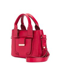 See By Chloé - Red Mini 'delia' Tote - Lyst