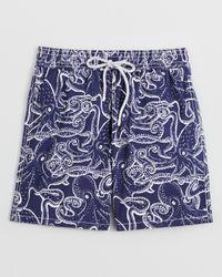 Vilebrequin | Blue Okoa Octopus Swim Trunks for Men | Lyst