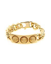 Balenciaga | Metallic Classic Stud Chain Bracelet | Lyst