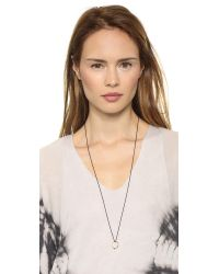 Monica Rich Kosann | Metallic Strength Sapphire Cabochon Ring Charm - Gold/sapphire | Lyst