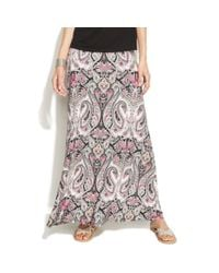 INC International Concepts - Multicolor Petite Paisleyprint Maxi Skirt - Lyst