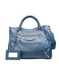 Balenciaga | Blue Giant 12 Gold Velo | Lyst