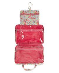 Liberty - Purple Tatum Print Tana Lawn Weekend Wash Bag - Lyst