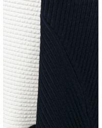 Victoria Beckham | Blue Long Panelled Skirt | Lyst