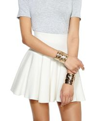 Nasty Gal | Metallic Double The Trouble Cuff Set | Lyst