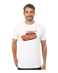 Jack O'neill - White Cruiser Short Sleeve Screen Tee for Men - Lyst