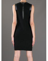 MILLY | Black 'Samantha' Dress | Lyst